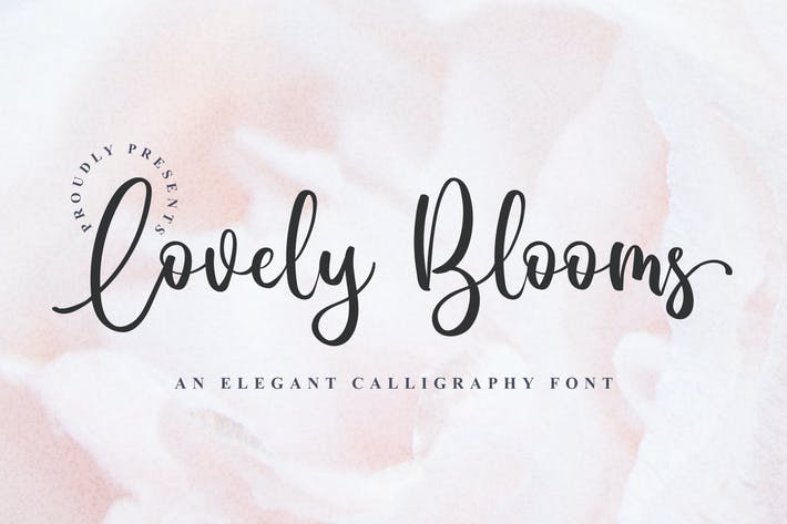 Thumbnail for Lovely Blooms - Elegant Calligraphy
