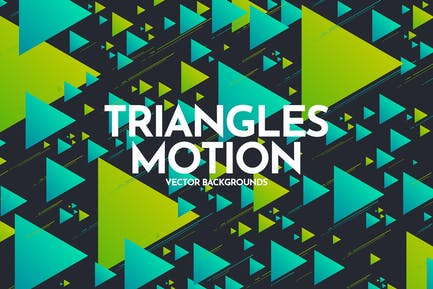 Triangles Motion Backgrounds