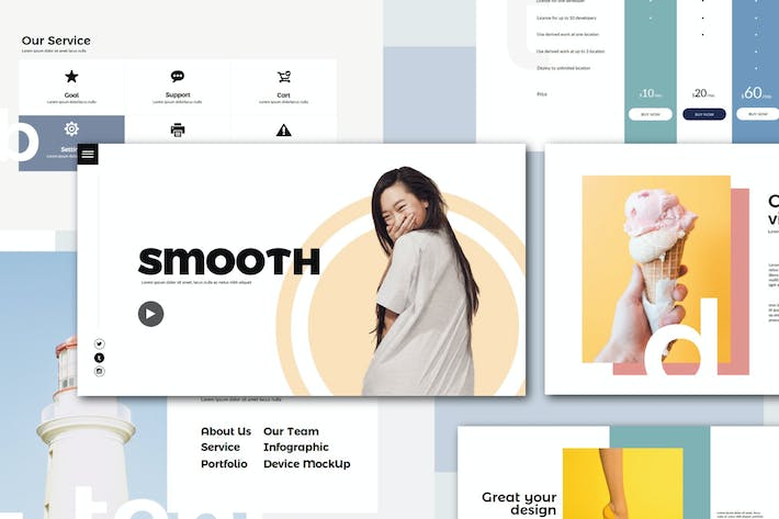 Smooth | Powerpoint Templates