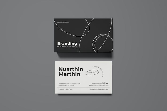 Thumbnail for Branding Visitenkarte