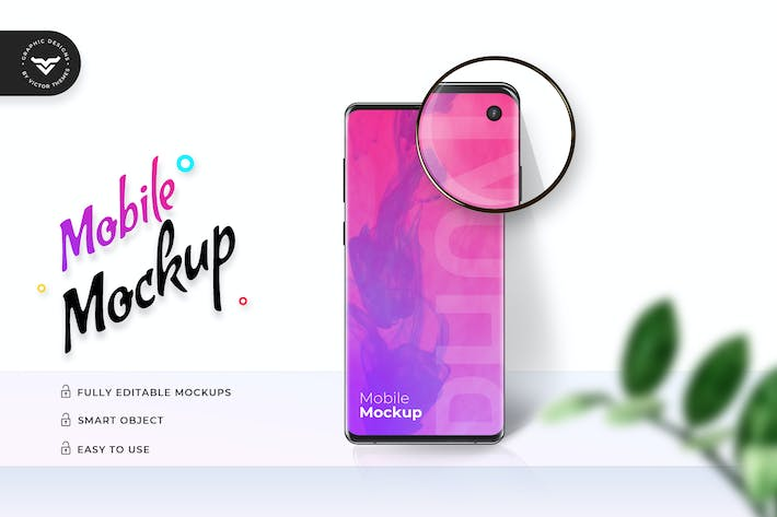 Thumbnail for Mobile Mockup Template