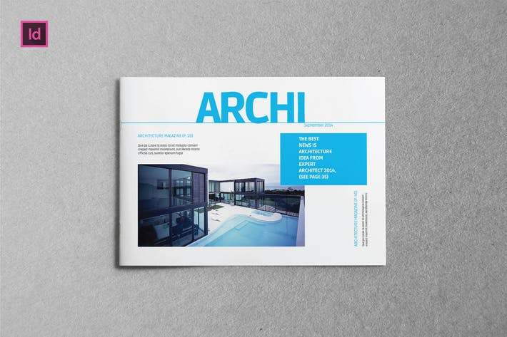 Thumbnail for ARCHI - Brochure A5 Landscape