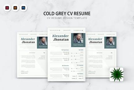 Cold Grey Lebenslauf Lebenslauf