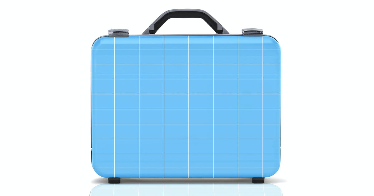 Business suitcase mockup by pbombaert