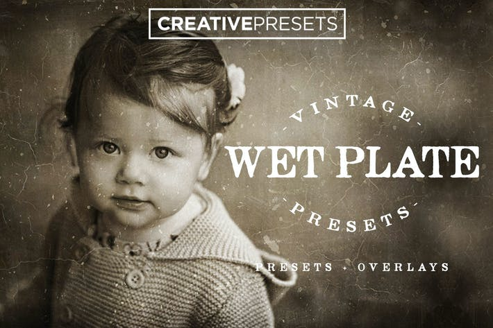 Thumbnail for Wet Plate Lightroom Presets + Overlays