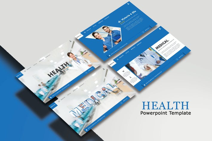 Thumbnail for HEALTH - Powerpoint Template