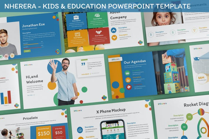 Thumbnail for Nherera - Kids & Education Powerpoint Template