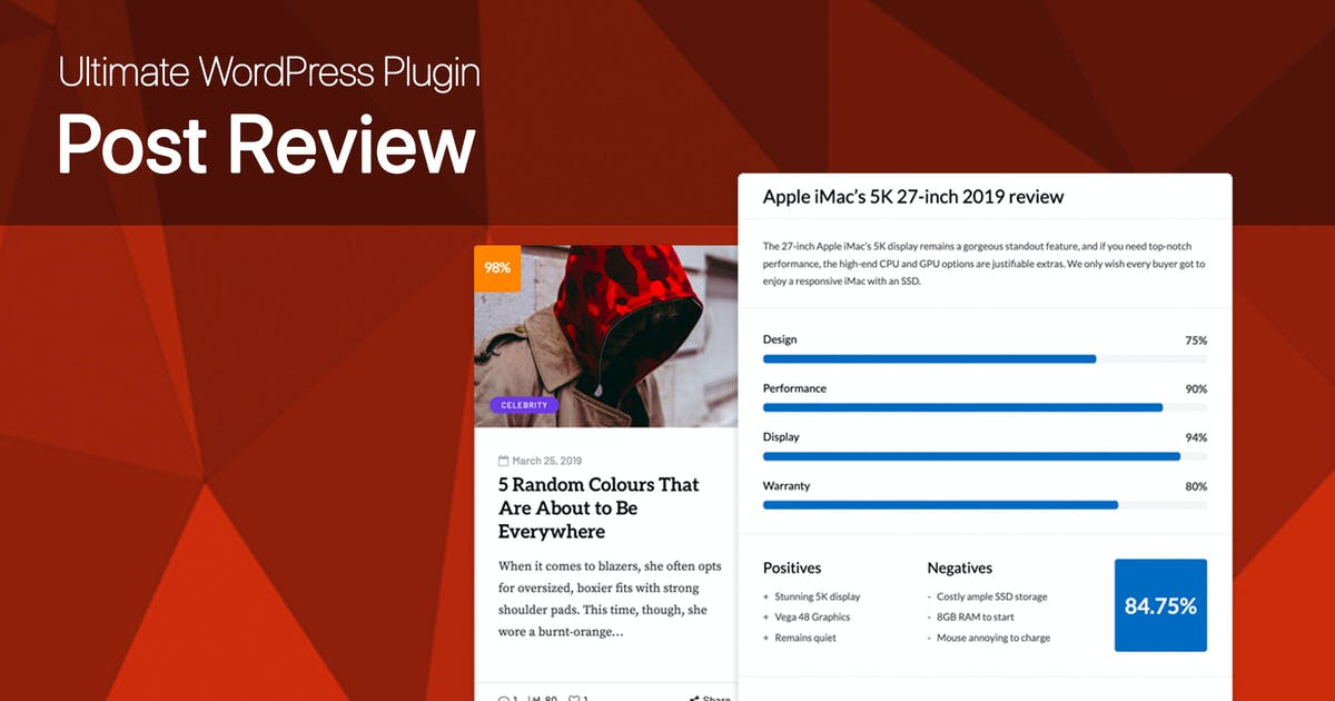 Download Ultimate Post Review - WordPress Rating/Reviews by dedalx