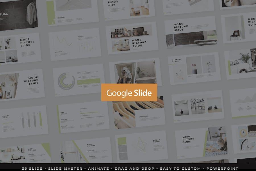 Magnum Presentation Google Slide