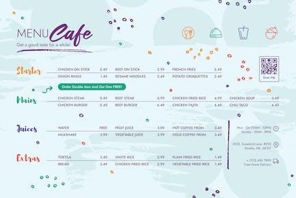 Menu Cafe
