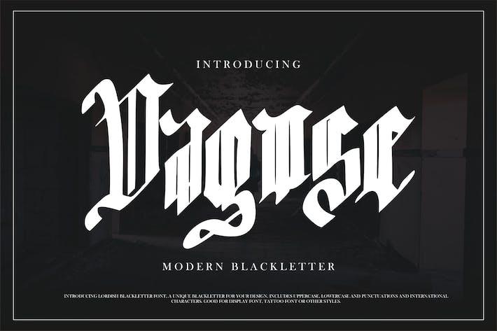 Thumbnail for Dagose | Modern Blackletter