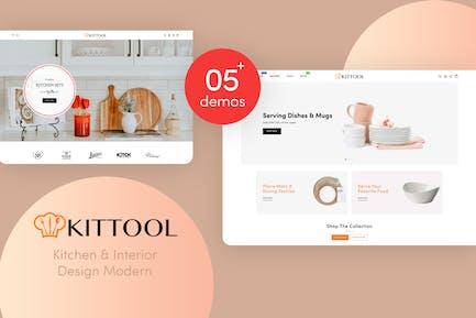 KitTool - Kitchen & Interior Design Shopify Theme