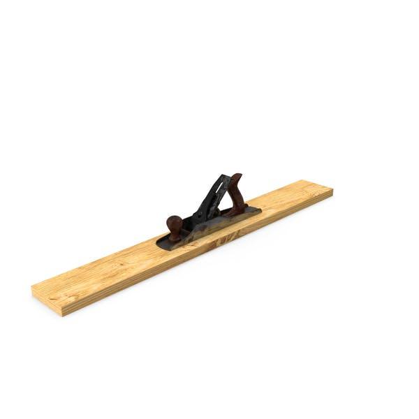 Holzflugzeug mit Brett