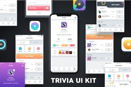 QUIZZ - Trivia Game UI Kit