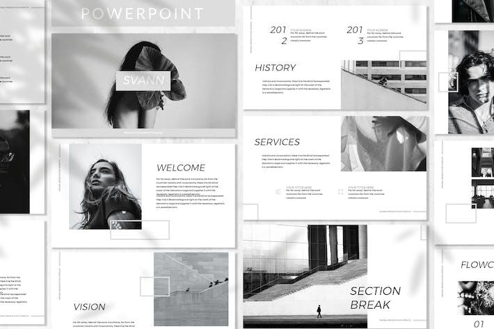 Thumbnail for Svann - Business Powerpoint Template
