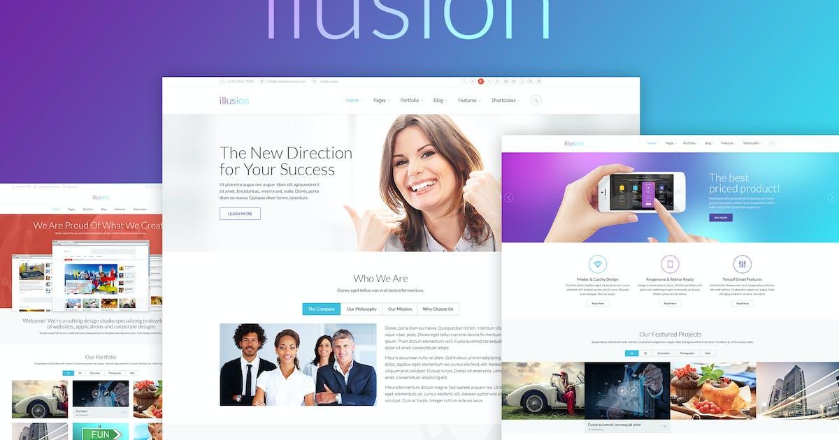 Download ilusion - Versatile Joomla 3 Template by Monkeysan