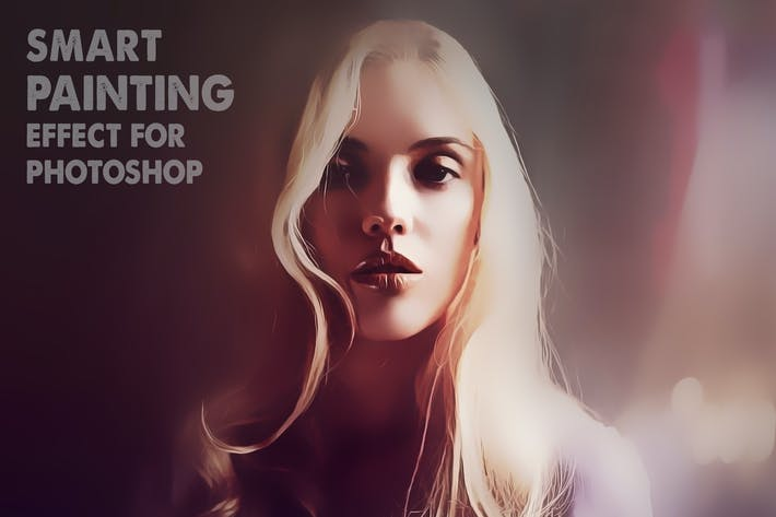 Thumbnail for Smart Painting Effect for Photoshop