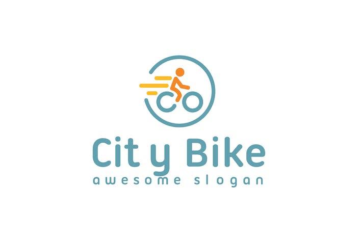 Thumbnail for City Bike Logo Template