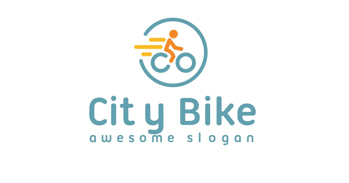 Download City Bike Logo Template by hoanglam1607