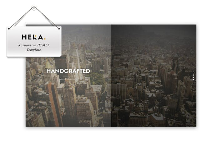 Thumbnail for Hera - Responsive HTML 5 Template