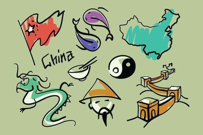 Cover Image For Visit China Doodles