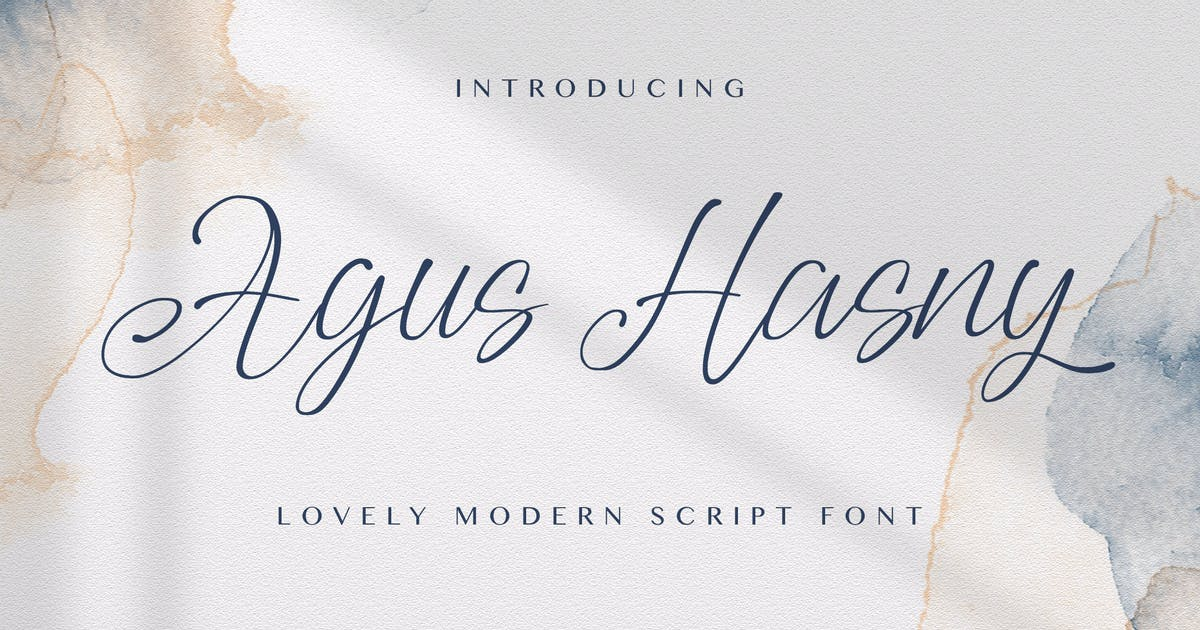 Download Agus Hasny - Love Script Font by StringLabs