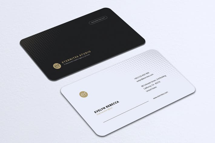 Cover Image For Minimalist Business Card Vol. 32