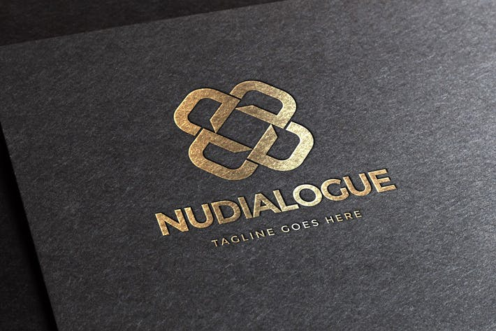 Thumbnail for Nudialogue Letter D Logo Template
