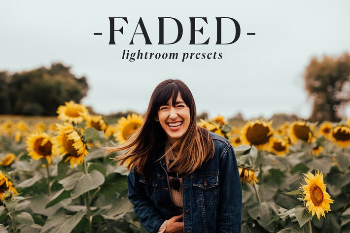 Thumbnail for Faded Lightroom Presets