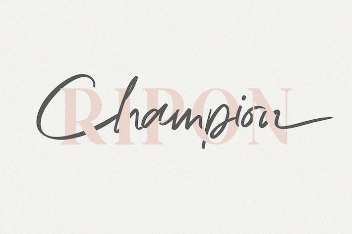 Thumbnail for Ripon Font Duo