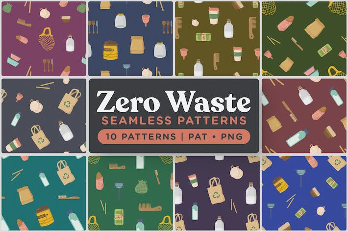 Thumbnail for Zero Waste Seamless Patterns