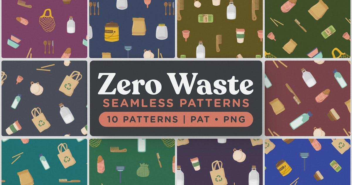 Download Zero Waste Seamless Patterns by telllu