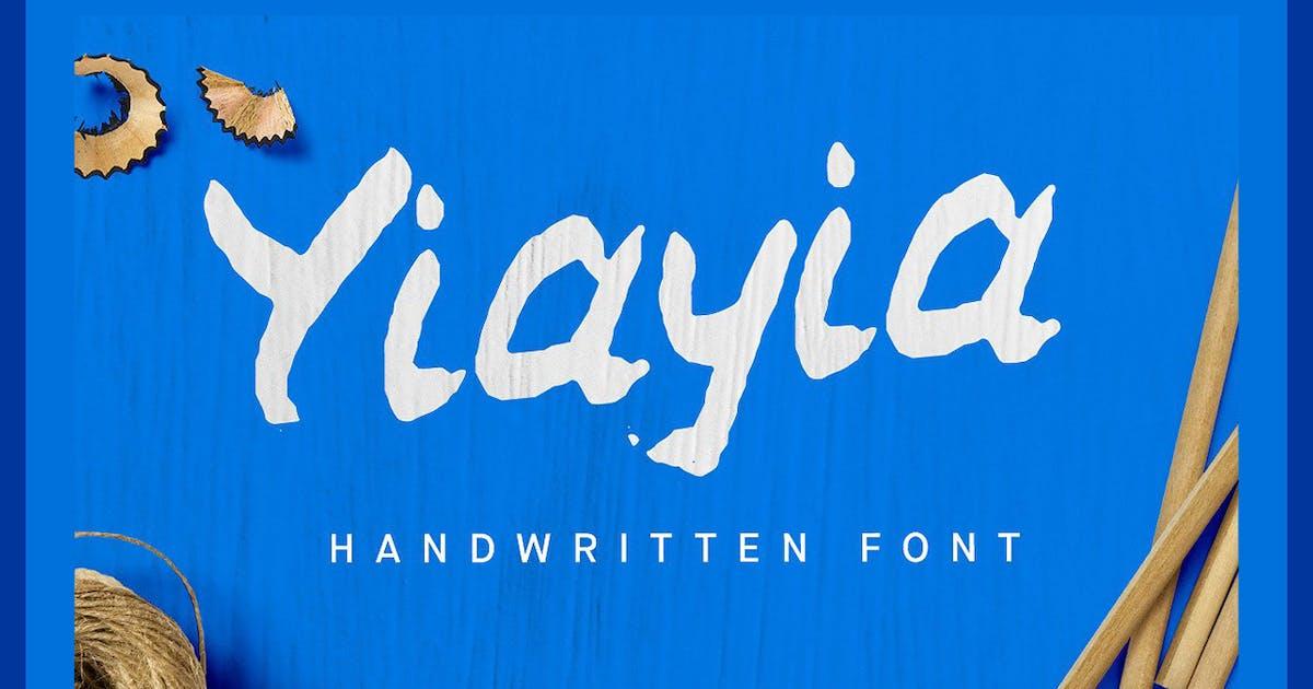 Download YiaYia Handwritten font by hughadams