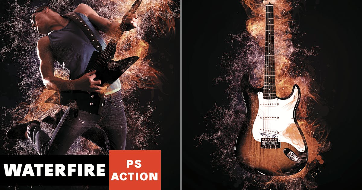 Download Waterfire Photoshop Action by AB-Designer
