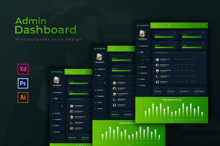 Ethereal Dashboard | Admin Template