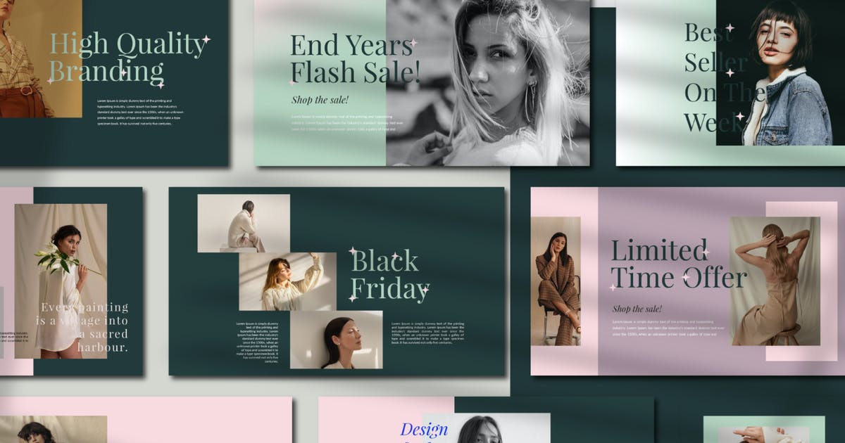 Download Lumia - Fashion Keynote Template by axelartstudio