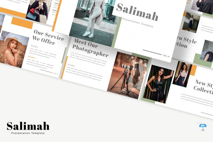 Thumbnail for Salimah - Keynote Template