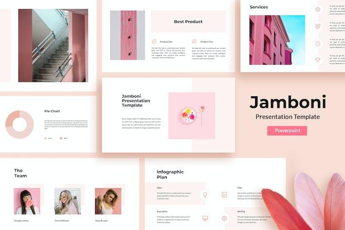 Thumbnail for Jamboni - Шаблон презентации Powerpoint
