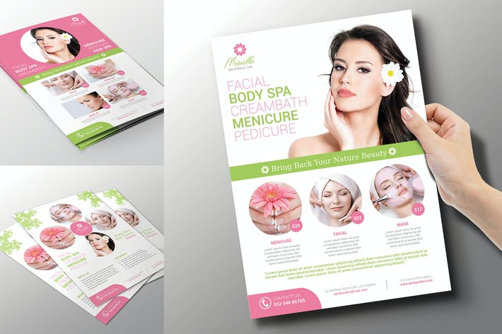 Thumbnail for Beauty Care Flyer