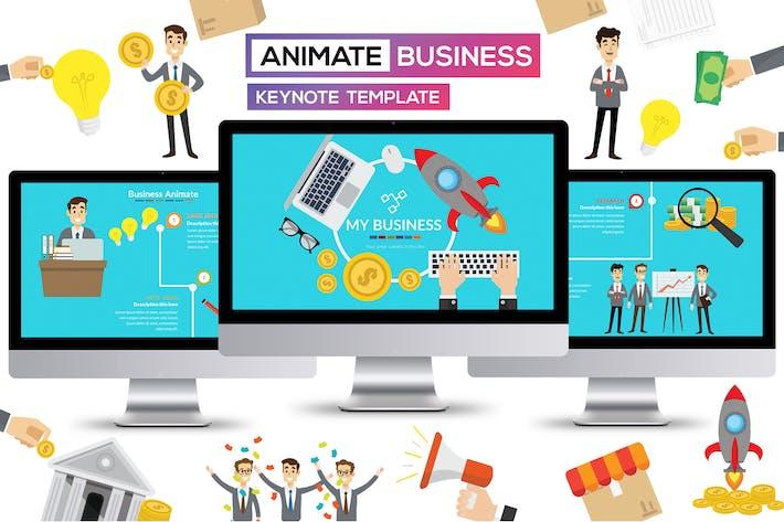 Презентация бизнес-анимационных Keynote докладов