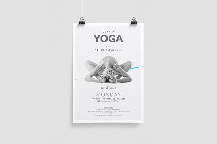 Thumbnail for Yoga Poster/Flyer