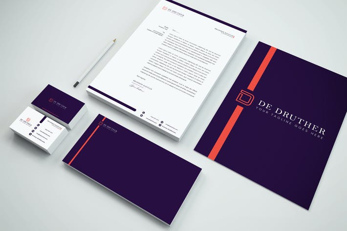Thumbnail for Branding Identity & Stationery Pack