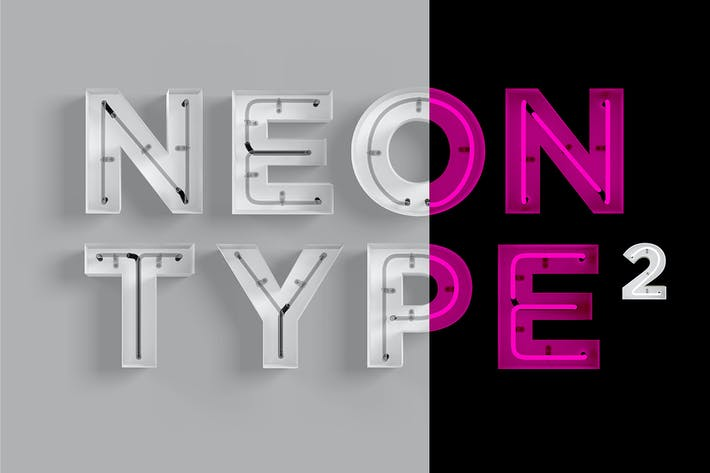 Cover Image For Neon Type 2