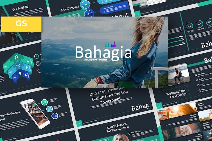 Cover Image For Bahagia Google Slide