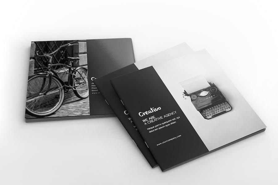 Creative Agency - Square Portfolio Brochure