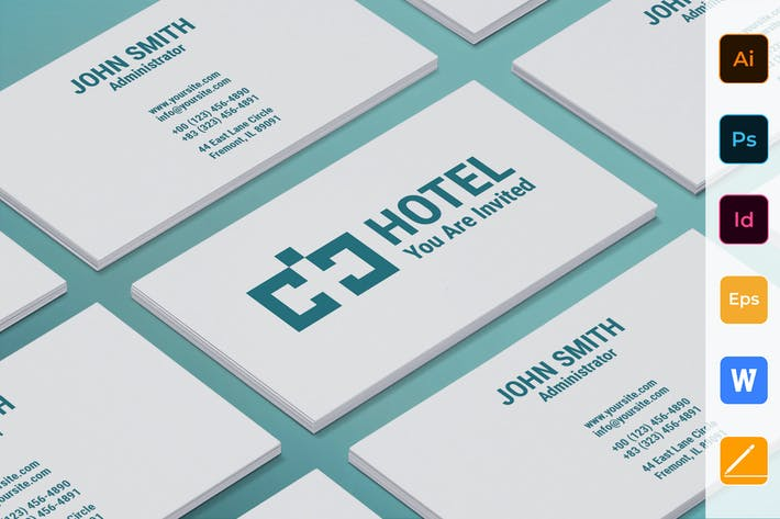 Thumbnail for Hotel Business Card