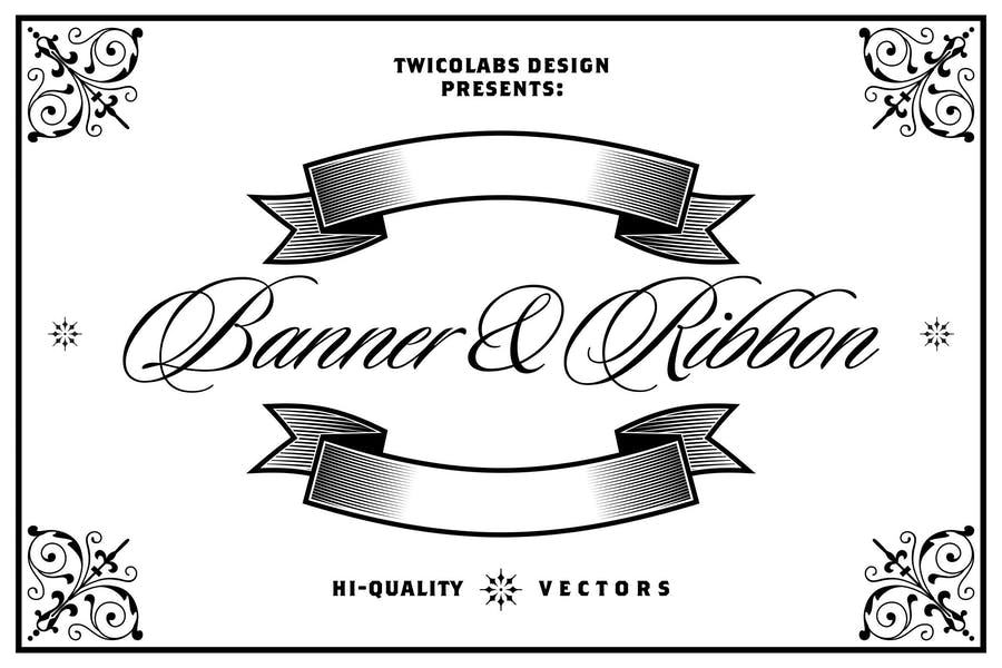 Banners and Ribbons Vector Pack