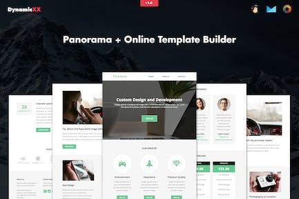 Panorama - Responsive Business Email + Builder