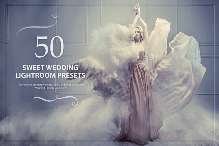 Thumbnail for 50 Sweet Wedding Lightroom Presets