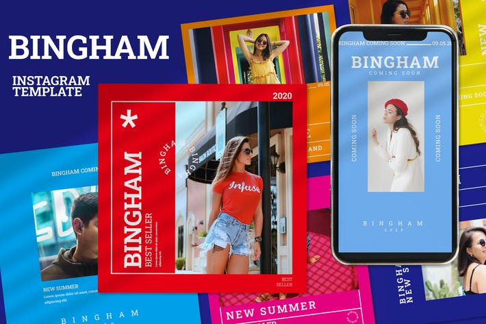 Thumbnail for Bingham - Instagram Post and Stories